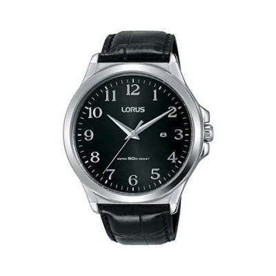 Lorus Mens Analogue Quartz Watch with Leather Strap RH969KX8 並行輸入品