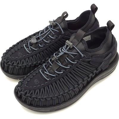 KEEN キーン スニーカー 靴 サンダル 靴 レディース WMNS UNEEK HT ユニーク エイチティー Black/Black 1018028 FW17