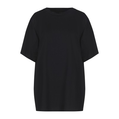 MM6 メゾン マルジェラ MM6 MAISON MARGIELA T シャツ ブラック XS コットン 100% T シャツ