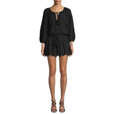 ワイエフビークロージング レディース ワンピース トップス YFB Clothing Junia Scallop Dress black