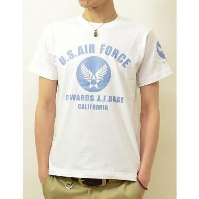 (ジーンズバグ)JEANSBUG U.S. AIR FORCE CA オリジナル エアフォース ミリタリー プリント 半袖 Tシャツ メンズ レディー