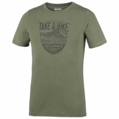 columbia コロンビア アウトドア 男性用ウェア Tシャツ columbia laney-hill