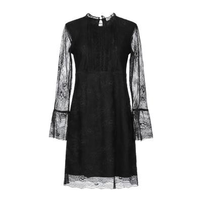 LE COEUR TWINSET ミニワンピース&ドレス ブラック XS ナイロン 100% / ポリウレタン ミニワンピース&ドレス