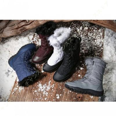 スノーブーツ スノーシューズ レディース 防水 防寒 防滑の綿靴 雪靴 通学 通勤用 レディースシューズ ブーツ 歩きやすい 痛くない 柔らかい 大きいサイズ 黒