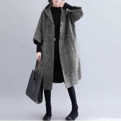 送料無料 秋冬用 全2色  ジャケット コート  ファッション カジュアル レディース 防寒 通勤   トップス アウター  大人  ゆった