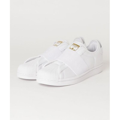 atmos / adidas アディダス スーパースター スリップオン SST SLIP ON (FOOTWEAR WHITE/FOOTWEAR WHITE/GOLD METALLIC) MEN シューズ > スニーカー