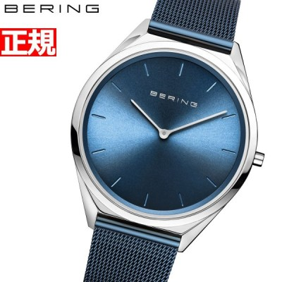 店内ポイント最大25倍!ベーリング 腕時計 メンズ レディース ウルトラスリム Ultra Slim 4.8mm BERING 17039-307