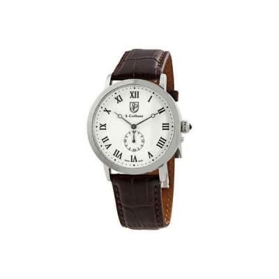 腕時計 コイフマン メンズ S Coifman White Dial Men's Watch SC0360