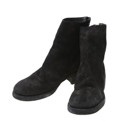 GUIDI / グイディ : BACK ZIP BOOT :796Z-BCALF-REV