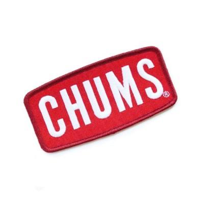 CHUMS チャムス Wappen CHUMS Logo M ワッペンチャムスロゴM 5.0×10.5cm アウトドア キャンプ BBQ CH62-1470