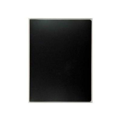 セキセイ プレゼンホルダー スーパークリヤー B4判 12ポケット(ブラック)