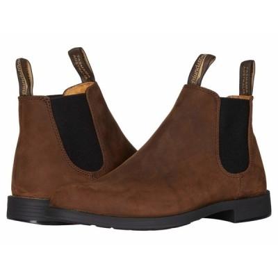ブランドストーン ブーツ&レインブーツ シューズ メンズ Dress Ankle Boot Brown Nubuck
