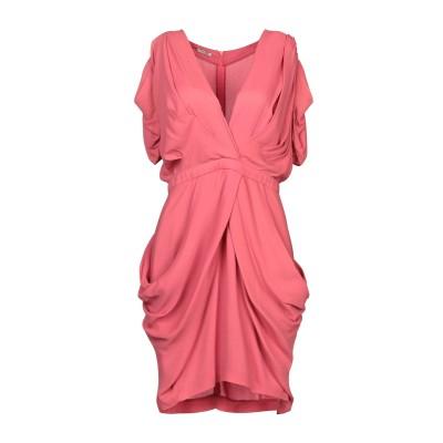 ミュウミュウ MIU MIU ミニワンピース&ドレス コーラル 44 レーヨン 100% ミニワンピース&ドレス
