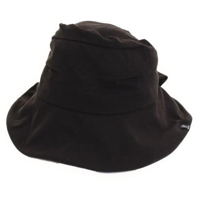 HUITIEME帽子TACK RIBBON HAT HU18S898SST008 BLK ブラック