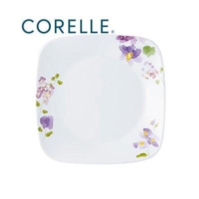 皿 おしゃれ プレート 取り皿 食器  コレール 中皿 バイオレットミスト スクエア中皿 スクエア J2211-VM CP-9413
