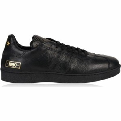 PANTOFOLA D ORO メンズ スニーカー シューズ・靴 Open Low Vitello 1990 Trainers BLACK/BLACK