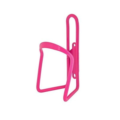 SUNLITE Alloy Bicycle Water Bottle Cage, Neon Pink(並行輸入品)