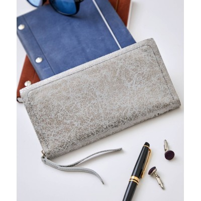 SETUP7 / 【ikot】IK316401 クラッキングレザーロングウォレット WOMEN 財布/小物 > 財布