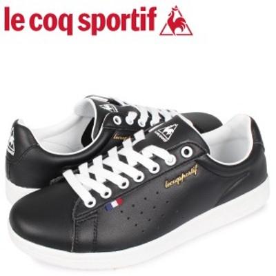 ルコック スポルティフ le coq sportif スニーカー メンズ レディース LA ローラン LA ROLAND LE ブラック 黒 QL1PJC18BK