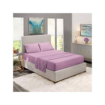 Nestl Bedding Soft Sheets Set ? 4 Piece Bed Sheet Set, 3-Line Design Pillow