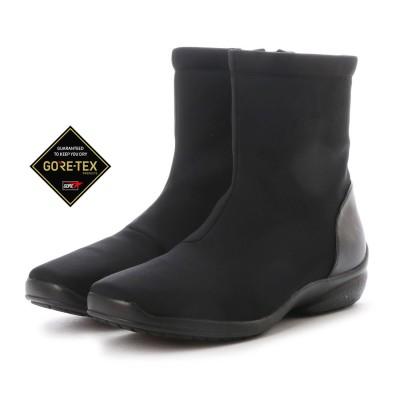 【大きいサイズ】【GORE-TEX】マドラスウォーク madras Walk 3.0cmGORE-TEXストレッチショートブーツ   MWLQ2072 (ブラック)