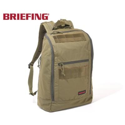 【選べるノベルティ付】 ブリーフィング バックパック/オリーブ メンズ MODULE WARE brm183101 BRIEFING