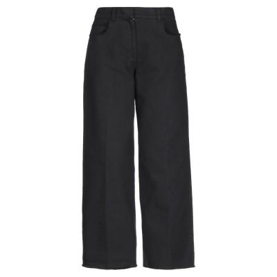 QL2  QUELLEDUE パンツ ブラック 38 コットン 100% パンツ