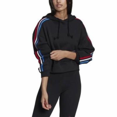 (取寄)アディダス オリジナルス レディース フーディ adidas originals Women's Hoodie Black