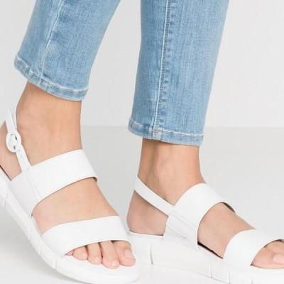 タマリス レディース サンダル WOMS SANDALS - Walking sandals - white