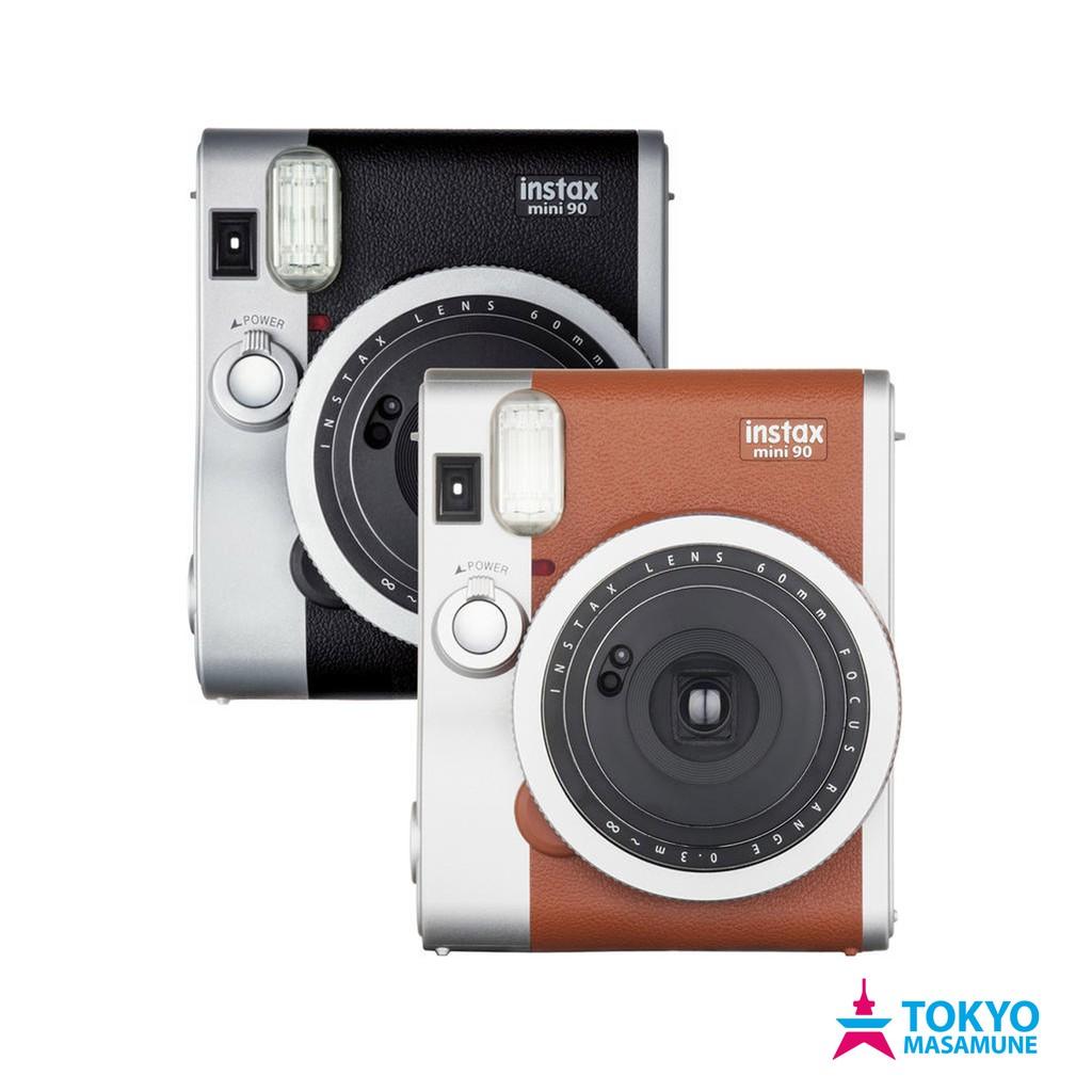 富士 Fujifilm instax mini90 拍立得 相機 平輸貨 黑色/棕色/紅色