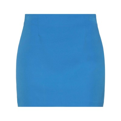 VICOLO ミニスカート アジュールブルー L ポリエステル 88% / ポリウレタン 12% ミニスカート