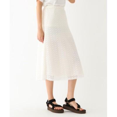 DRESSTERIOR(Ladies)(ドレステリア(レディース)) クロシェ風セミフレアスカート