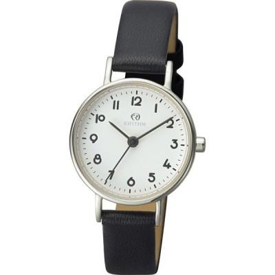 リズム時計 チェンノ(cenno)スタンダード010 9ZR010RH02 ブラック