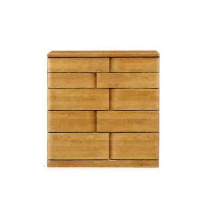 受注生産 ミドルチェスト 木製 たんす タンス 箪笥 5段 (ハート 90-5段 ミドルチェスト) モダン/おしゃれ/収納家具