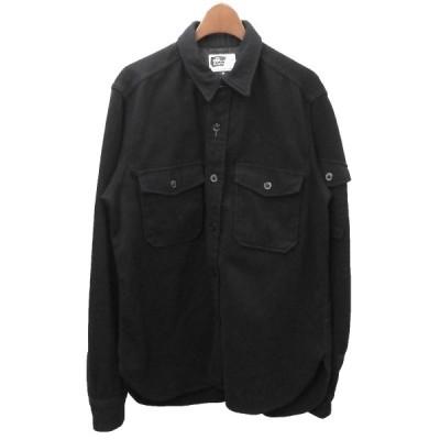 【1月25日値下】Engineered Garments ウールシャツ ブラック サイズ:M (渋谷店)