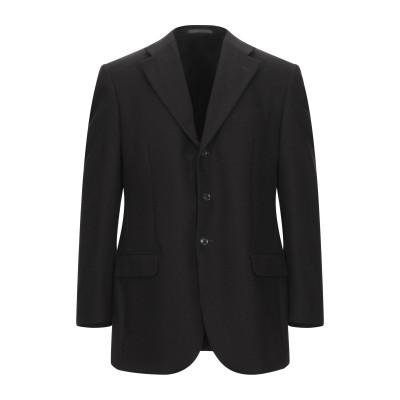 LUBIAM テーラードジャケット ダークブラウン 50 バージンウール 100% テーラードジャケット