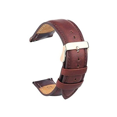 Vetoo Quick Release Leather Watch Bands,Alligator Grain Band for 22mm/20mm/好評販売中