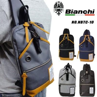 ビアンキ Bianchi ボディバッグ メンズ NBTC-10 ボディバック 日本正規品 iPad対応 B5対応 プレゼント