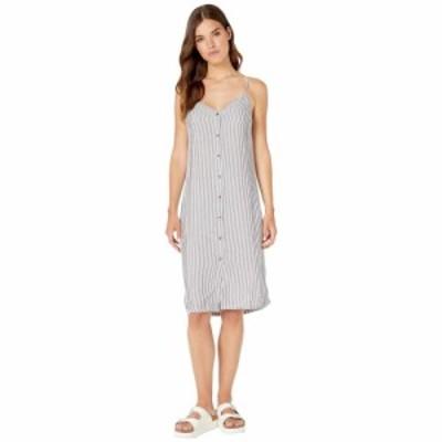 スプレンディッド Splendid レディース ワンピース スリップドレス ミドル丈 ワンピース・ドレス button front midi striped slip dress