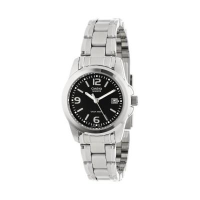 腕時計 カシオ レディース LTP1215A-1ACR Casio Women's LTP1215A-1ACR Stainless Steel Watch