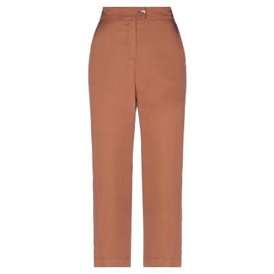FACE TO FACE パンツ ブラウン 46 指定外繊維(テンセル)® 100% パンツ