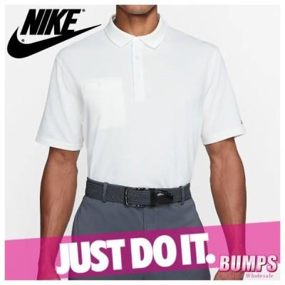 NIKE ナイキ ポロシャツ 半袖 メンズ ドライフィット プレイヤー ロゴ 無地 ゴルフ トップス 新作