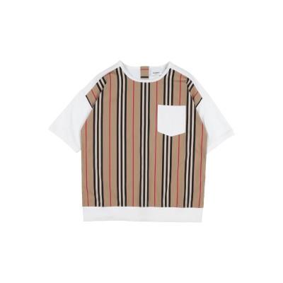 BURBERRY T シャツ キャメル 3 コットン 100% / ポリウレタン T シャツ