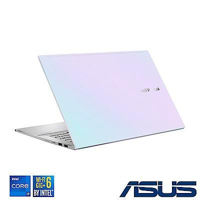 ASUS S533EQ 15吋筆電(i7-1165G7/MX350/16G/512G SSD/VivoBook S15/幻彩白)