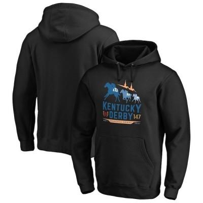 ファナティクス ブランデッド メンズ パーカー・スウェット アウター Kentucky Derby 147 Fanatics Branded Pullover Hoodie