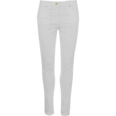 ビバ Biba レディース ジーンズ・デニム スキニー ボトムス・パンツ Stevie Stretch Skinny Jeans White