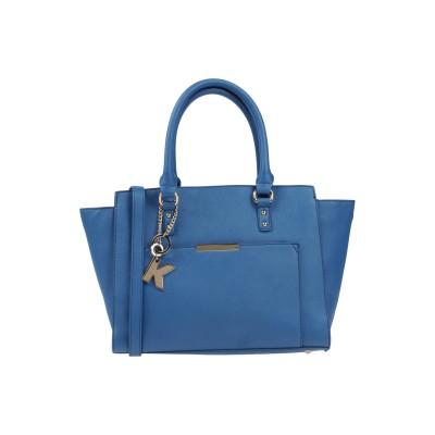 KOAN ハンドバッグ ブルーグレー ポリ塩化ビニル 100% ハンドバッグ
