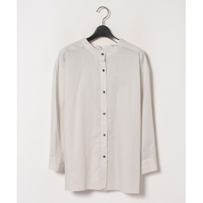 【ロートレ・アモン】 前後着れるギャザーシャツ レディース グレー 36(1) LAUTREAMONT
