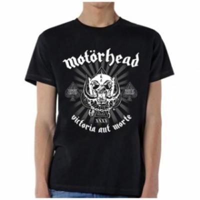 ファッション トップス Motorhead-40th Anniversary Logo-X-Large Black T-shirt