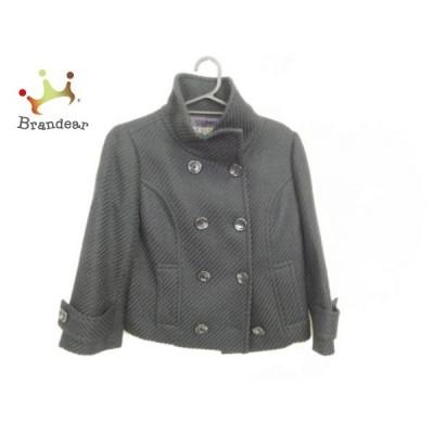 ブラックバイマウジー BLACK by moussy コート サイズ2 M レディース 美品 黒 ショート丈/冬物     スペシャル特価 20201129